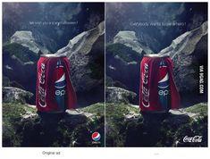 Pepsi, Coca-Cola, advertising.