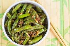 Uber-healthy green beans star in this recipe. These tender legumes boast an impressive amount of antioxidants and provide cardiovascular benefits.