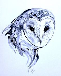 Barn Owl Tattoo by *Lucky978 on deviantART