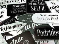 Letreros para fiesta on Pinterest | Fiestas, Bodas and Emojis