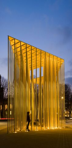 A Forest of Gold by Carmody Groarke | Yatzer #architecture