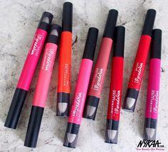 Create a killer ombré with Maybelline New York India's Lip Gradation! #NewAtNykaa