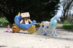 Great day for a horse carriage ride -Danbo