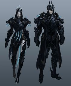 A concept art archive of NCSoft's fantasy MMORPG, Aion Online. Made primarily cause the assholes. Fantasy Armor, Medieval Fantasy, Dark Fantasy, Armor Concept, Concept Art, Character Concept, Character Art, Elfen Fantasy, Anime Outfits