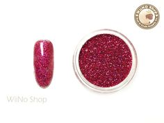 Burgundy Holographic Glitter Dust Powder / Sparkle Powder / Nail Art Craft (BL07)
