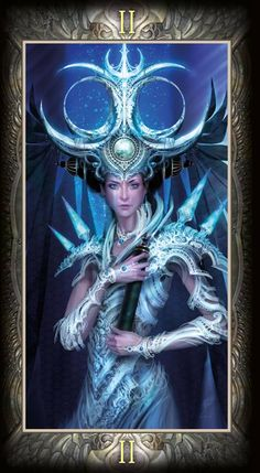 The High Priestess - Barbieri Tarot