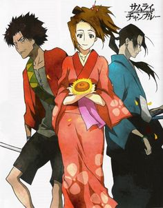 Anime: Samurai Champloo  #anime