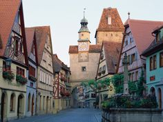 Rothenburg, Germany.  This little village is truly out of a storybook! I've been there :)