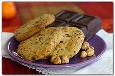 A me le pentole!: Cookies con cioccolato e nocciole