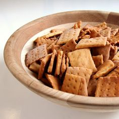 Cookistry: Cheesy crackers