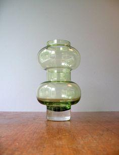 Swedish Modern Aseda Glass Vase Bo Borgstrom by luola on Etsy, $36.00