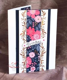 The Stampin' Chic: Feature Friday! Everything's Rosie, Stamping Up Cards, Scrapbooking, Cool Cards, 3d Cards, Card Sketches, Card Kit, Flower Cards, Homemade Cards