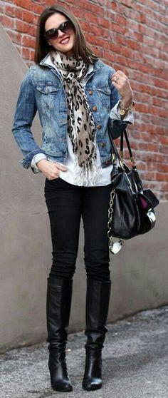 6b4d96792888 34 Modest Fashion Ideas That Always Look Fantastic. Jean Jacket OutfitsHow  To Wear Denim ...
