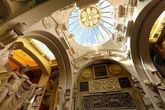 The Architectural Historian (and for that Matter Art Historians) play ground Sir John Soane's Museum in London.  An architect who was so enamored with the world that be bought it and moved it into his home.