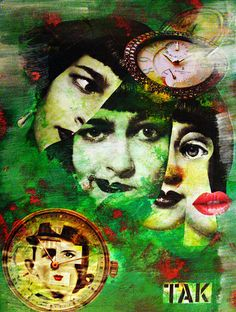 *** Farsi in quattro ***  Collage by Kat collage art