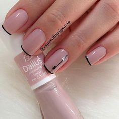 Elegant Nails, Classy Nails, Simple Nails, Trendy Nails, French Manicure Acrylic Nails, Manicure And Pedicure, Diy Nails, Manicure Ideas, Purple Manicure