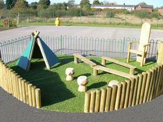 Backyard Play Area Ideas | It's essential we get kids playing outside again!