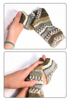 TECHknitting: QUICKTIP: How to see if socks will fit without trying them on