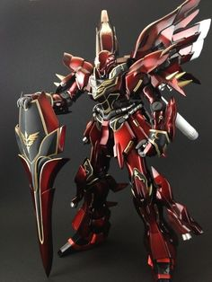 GUNDAM GUY: MG 1/100 MSN-06S Sinaju Ver.Ka - Painted Build