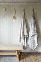 lapuan kankurit, PAUSSI linen towels Spa Sauna, Linen Towels, Terry Towel, Pillows, Lifestyle, Cool Stuff, Inspiration, Design, Biblical Inspiration
