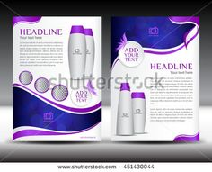 Pink Business Brochure Flyer Template Design Newsletter Magazine