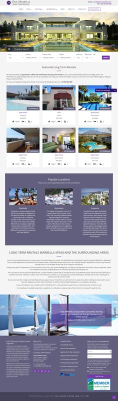 Long Term Rentals Marbella have hundreds of apartments, villas and townhouses for long term rental in and around the Marbella, Estepona and Mijas areas.