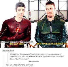 Lol #TheFlash #Arrow