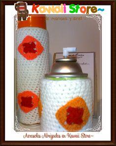 Aerosoles Abrigadas Utiles y Decorativas Realizados Artesanalmente en Crochet y Porcelana o Ceramica. Decora tu casa. Son Tendencia! Son Moda! No dejes de tenerlos <3 en Kawaii Store los tenemos para vos <3