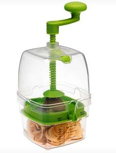 Curly-Fry Cutter, $23.50   33 Surprising Kitchen Gifts  - Why did I not know about this?