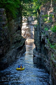Rafting at Au Sable River, New York