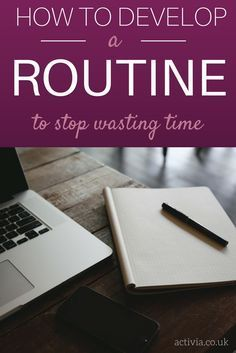 Poor time management can have a huge impact on your productivity. The key is to develop a routine that will allow you to work more efficiently and make the best use of your time. By having a routine in place you can avoid wasting unnecessary time trying to continuously plan out the day ahead and just get on with your work instead. Find out how you can create an effective routine at www.activia.co.uk...