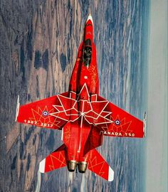 CF-18 (Canada's 150th anniversary livery)