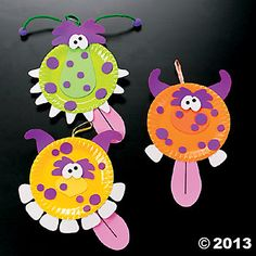 Paper Plate Monster Craft Kit