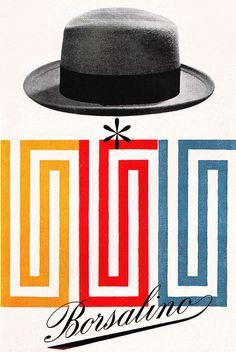 Vintage poster Borsalino