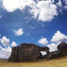 La llama del bosque de piedras de Huayllay. #roadtrip #peru #huayllay #rockforest #pin