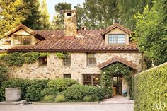 Former silicon valley winery turned residence.