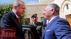 #Turkey's Erdogan, Jordan's King Abdullah II discuss Palestine's #al-Aqsa  http://ansarpress.com/english/8166/