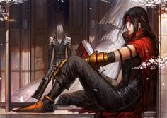 Sephiroth + Vincent (FFVII)  霜蓝