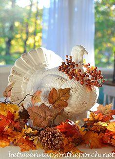 Turkey Centerpiece for Thanksgiving