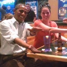 President Barack Obama Florida Gators Chomp