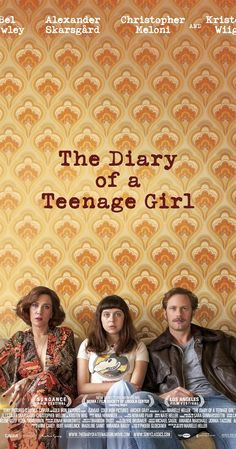Directed by Marielle Heller.  With Bel Powley, Alexander Skarsgård, Kristen Wiig, Christopher Meloni. A teen artist living in 1970s San Francisco enters into an affair with her mother's boyfriend.