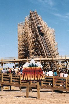 #RollerCoaster: Shivering Timbers at #Michigan's Adventure & Wildwater Adventure