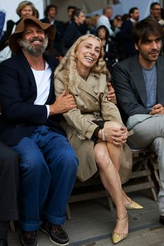 Franca Sozzani is so chic, so cute, and actually looks her age.