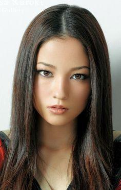Satsuki Shimabukuro aka Meisa Kuroki, a Japanese actress, model and singer born in Nago, Okinawa, Japan. She is Japanese/Brazilian-American.