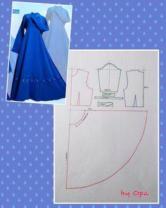 "55 Likes, 1 Comments - Album inspirasi baju dan pola (@pomobaki) on Instagram: ""#pattern #fashionpattern #dresspattern #polabaju #poladress #polagamis #polabajumuslim #sewpattern…"""