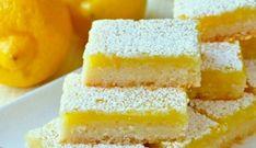 Lemon Bars recept | Smulweb.nl