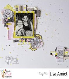 This month Lisa is showcasing the lovely new range from Bo Bunny, Petal Lane. This collection is full of gorgeous paper designs in a colour scheme that is stunning! So without any further ado, here is our first share, a layout titled 'Two of a Kind'. The full post on Lisa's layout is now available over on the Anna's Blog  Lisa has also created a process video for her layout which can be found on Anna's Youtube Channel https://youtu.be/uCjZIxbqvbU