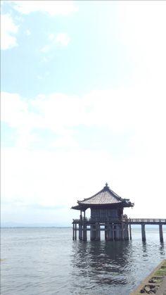 満月寺浮御堂/滋賀・大津