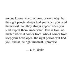 Rm Drake Quotes, True Quotes, Words Quotes, Wise Words, Book Quotes, Sayings, R M Drake, Deep Thought Quotes, Healing Quotes