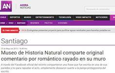 AhoraNoticias, de Mega, informa sobre Carol y Pipe :)